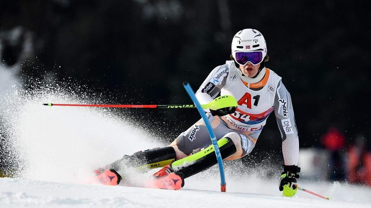 20-летний горнолыжник едва не погиб, финишировав вниз головой: жуткое видео