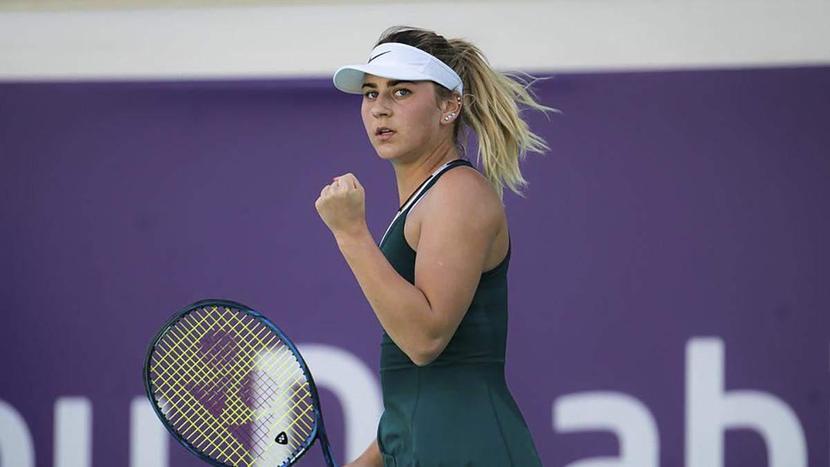 Марта Костюк установит личный рекорд в рейтинге WTA