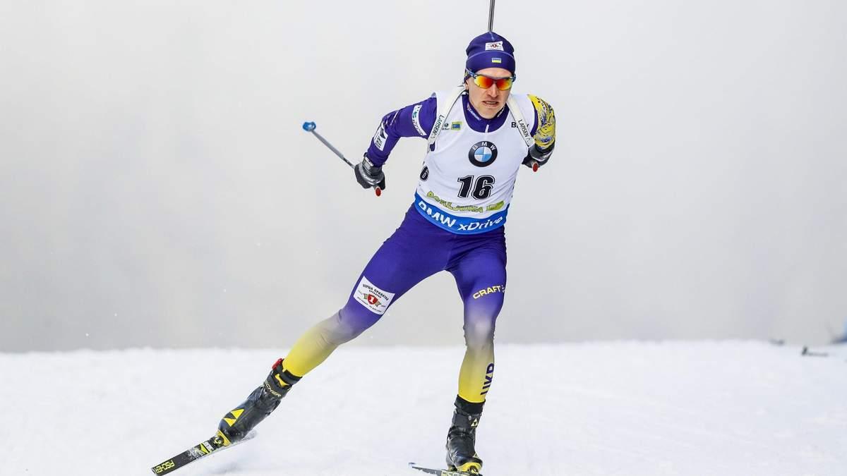 Біатлоніст Сергій Семенов не може тренуватися через травму: причина