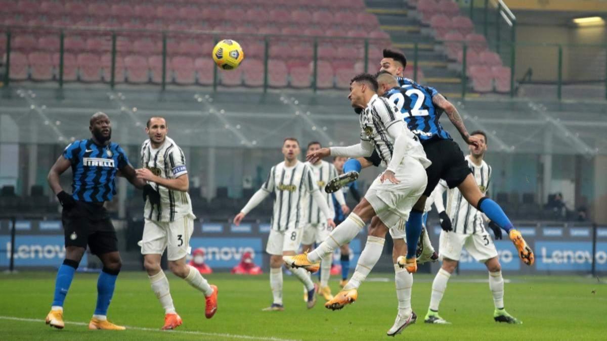 Интер уверенно обыграл Ювентус в принципиальном дерби в Италии: видео