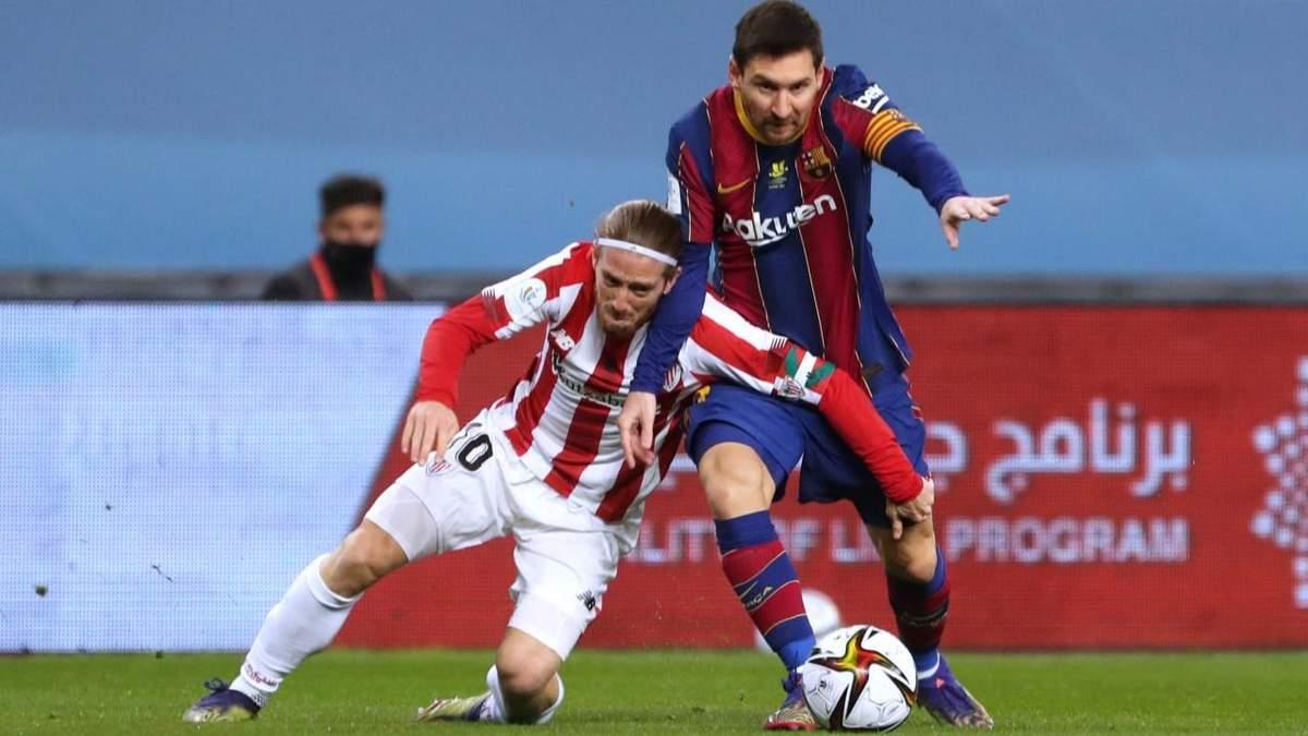 Месси впервые получил красную карточку за Барселону и может быть дисквалифицирован на 12 игр