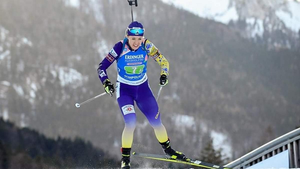Украинка Джима выиграла серебро женской индивидуалки в Антхольце