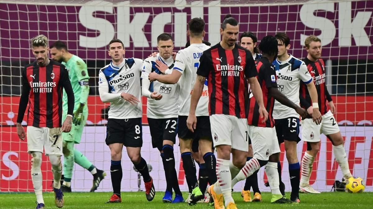 Мілан – Аталанта: результат і відео голів матчу 23 січня 2021