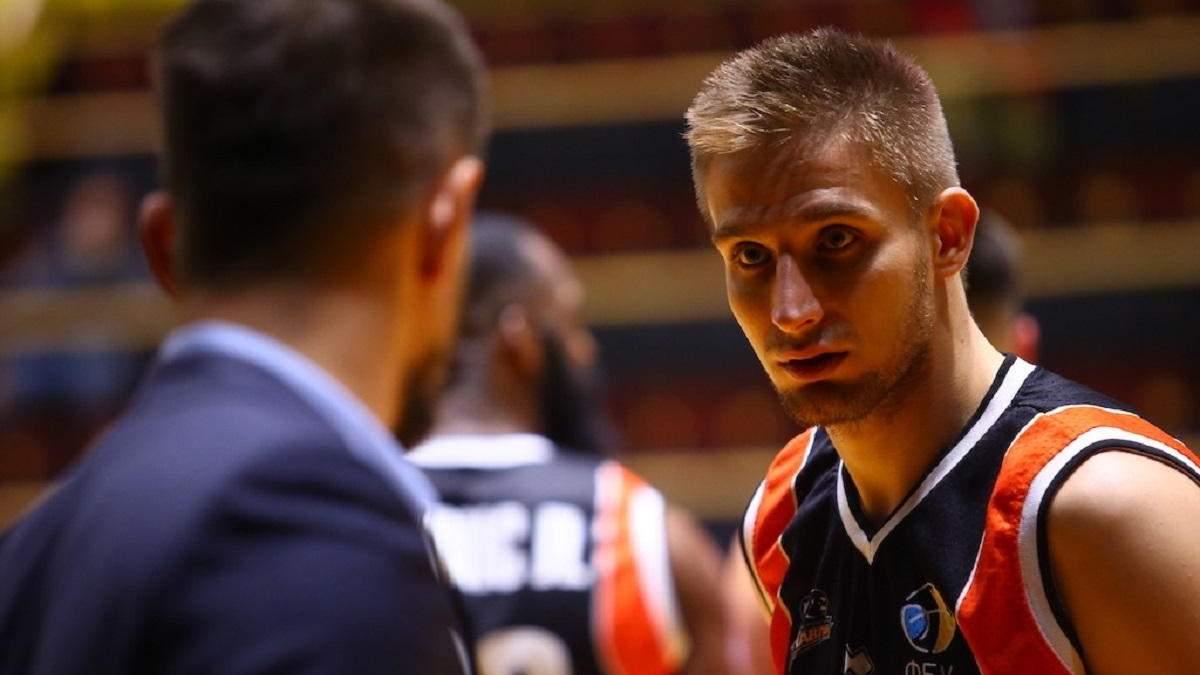 С баскетболиста сборной Украины сняли обвинения в игре на ставках