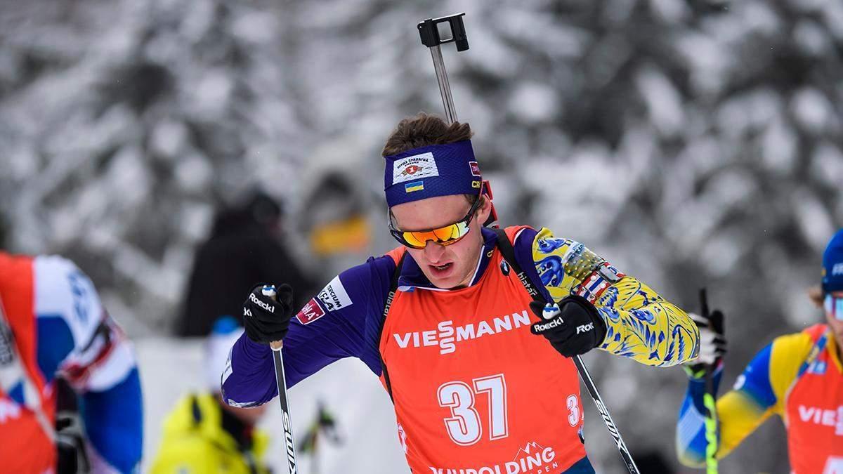 Украинец Дудченко занял 25-е место в дебютном масс-старте, уверена победа Бё