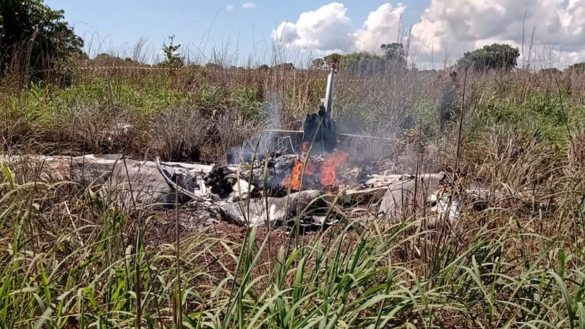 В Бразилии разбился самолет с футболистами на борту 24.01.2021
