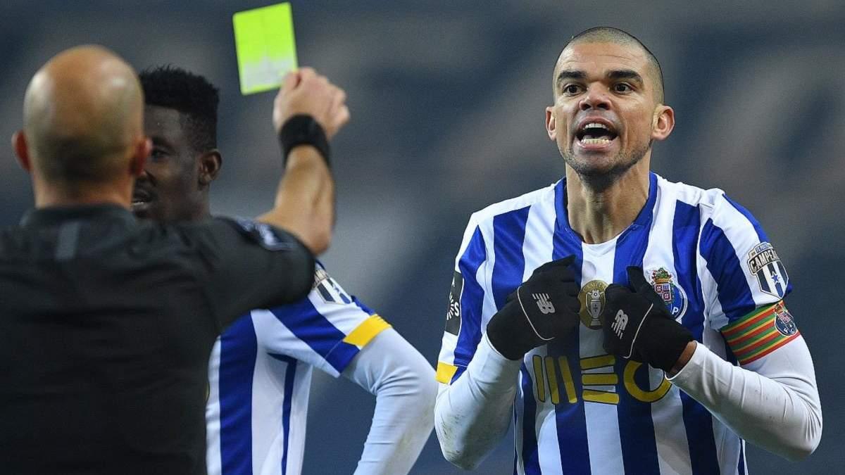 Игроки Порту подрались прямо на поле: в центре внимания снова скандальный Пепе – видео