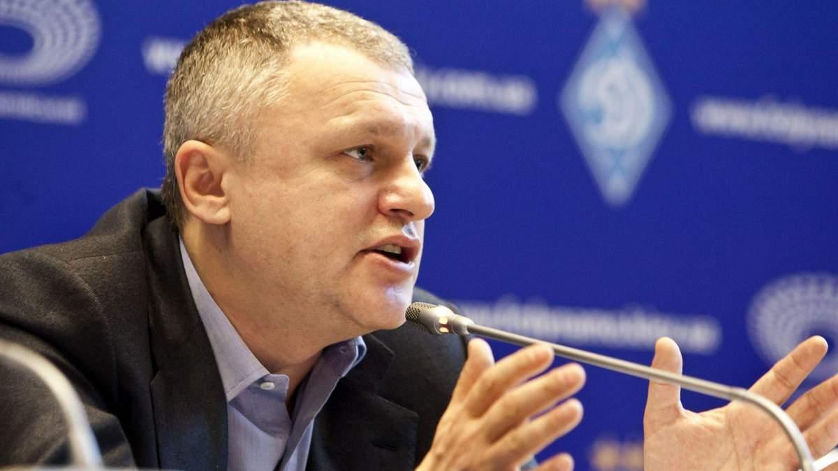 Игорь Суркис готов продать Динамо Киев: детали