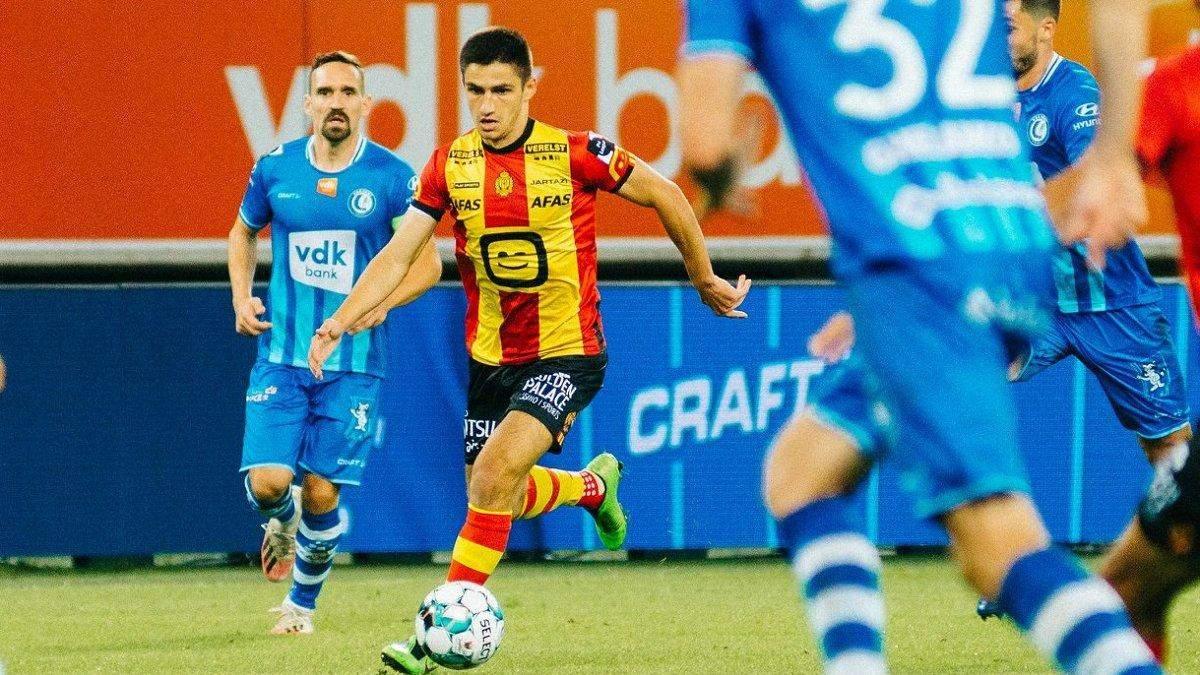 Мар'ян Швед забив дубль і віддав асист у матчі чемпіонату Бельгії