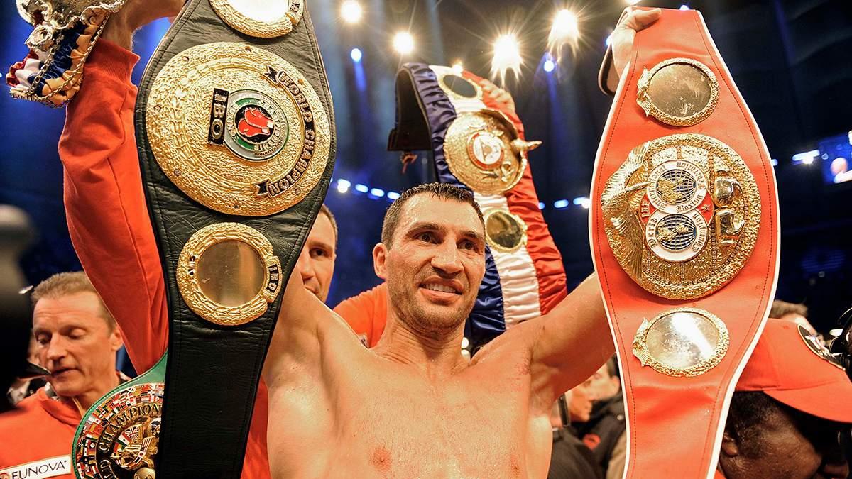 Володимир Кличко – найкращим боксер Європи за версією Boxrec