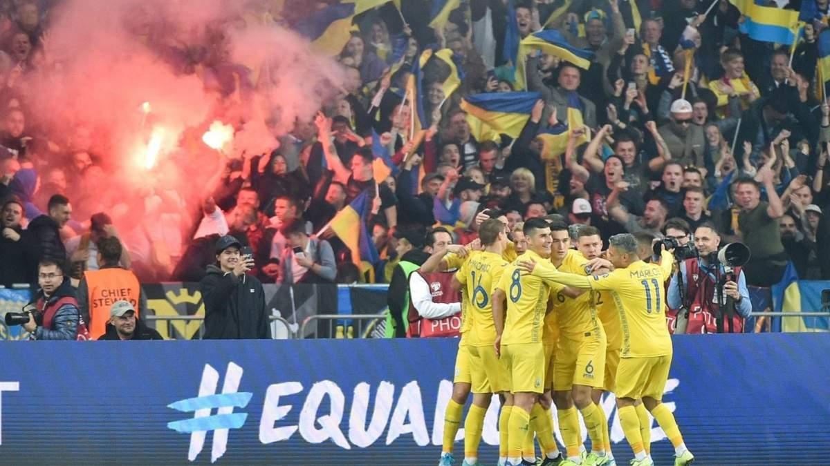 Збірна України може зіграти матчі відбору на ЧС-2022 у Львові з вболівальниками