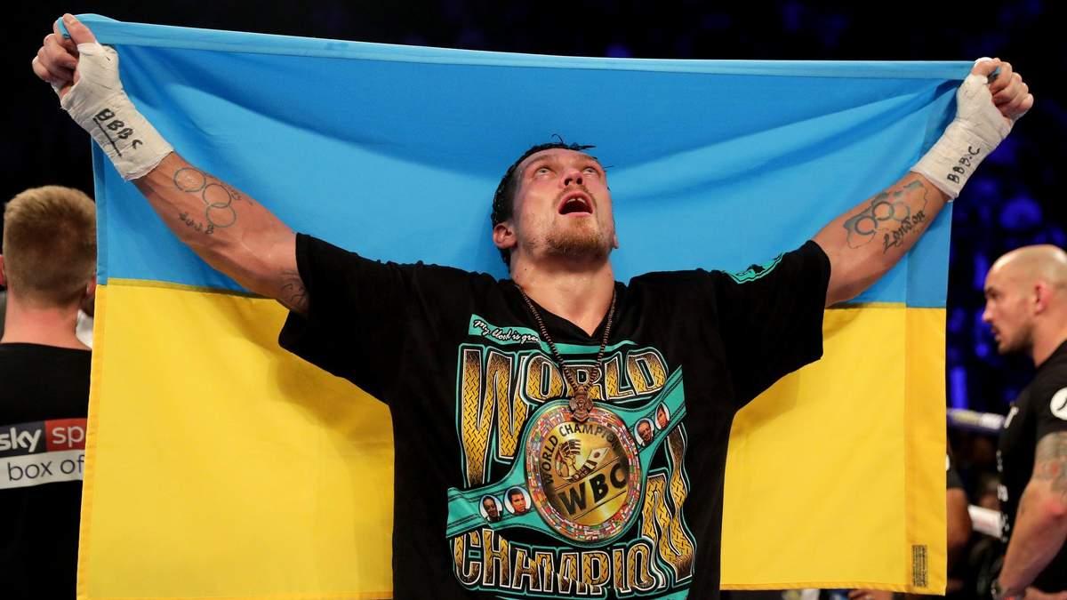 Александр Усик хочет провести чемпионский бой на НСК Олимпийский