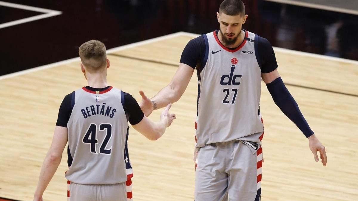 Лень став найкращим гравцем Вашингтона у матчі НБА