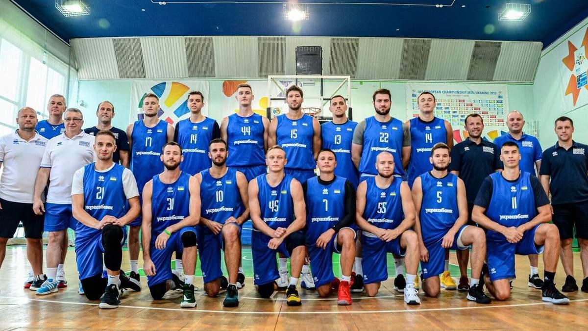 Сборная Украины объявила полный состав на матчи отбора на Евробаскет-2022