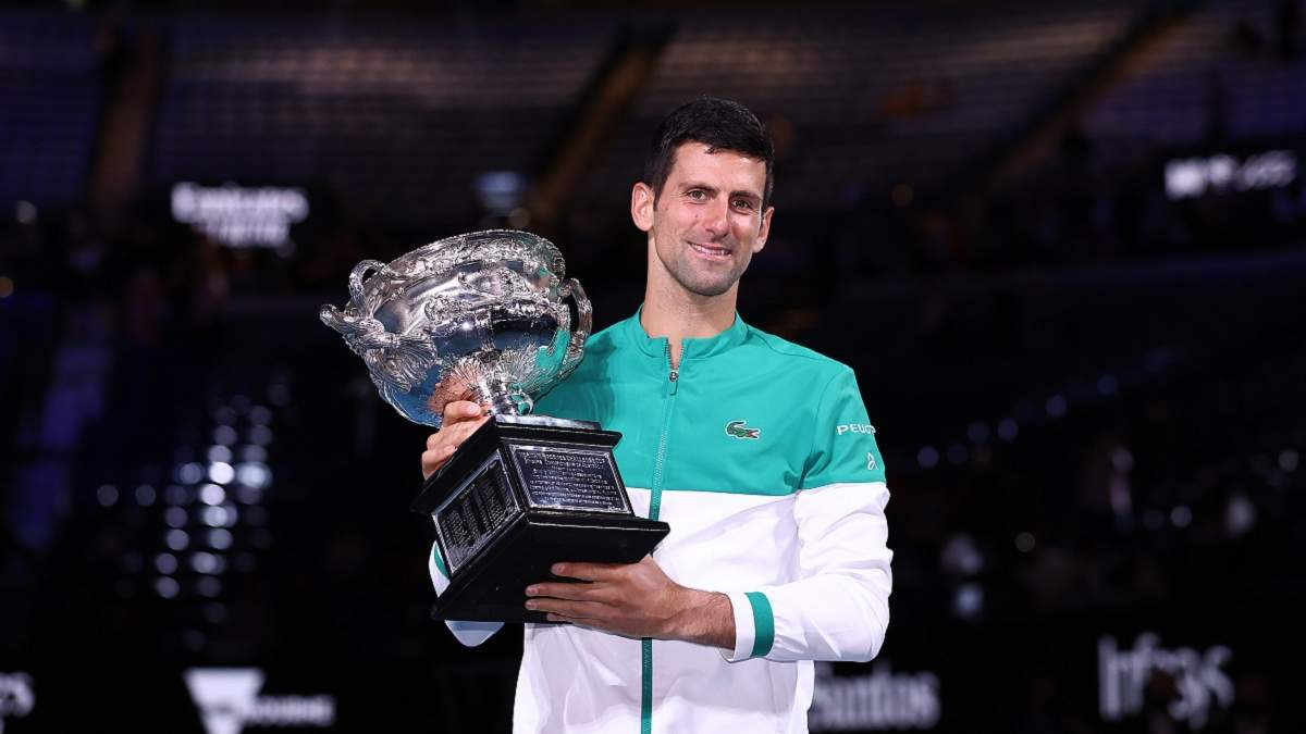 Новак Джокович в девятый раз победил на Australian Open
