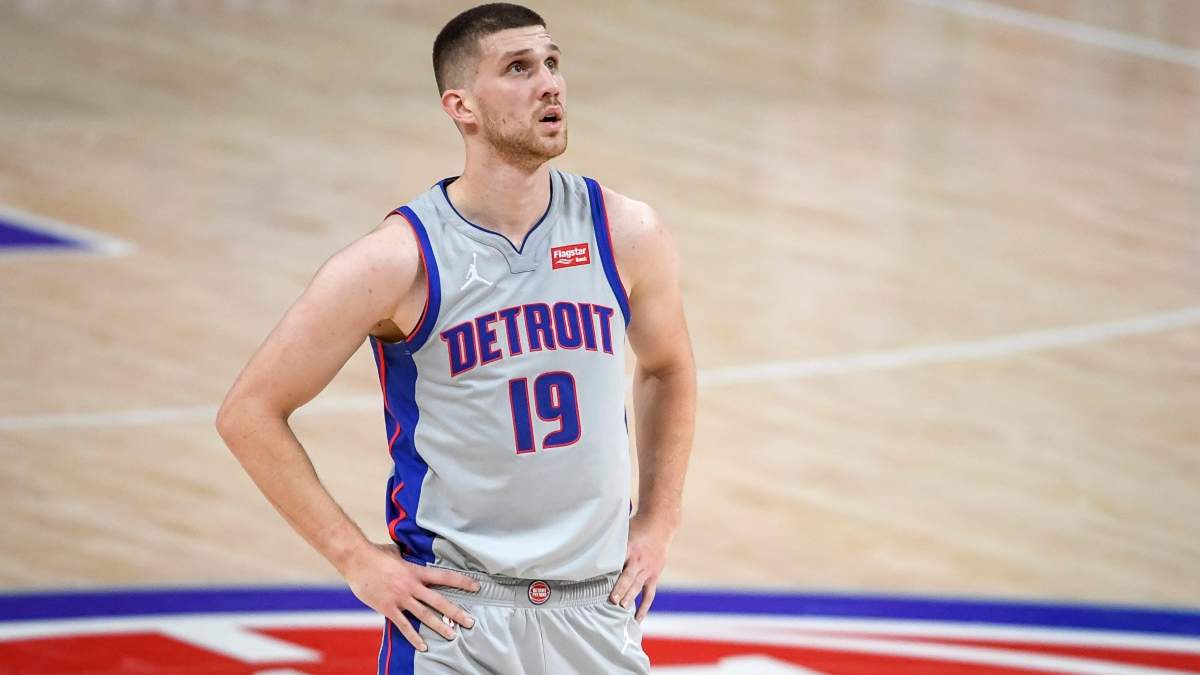 Михайлюк показал мизерную результативность в матче Детройта