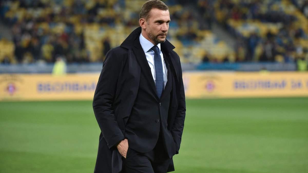Андрій Шевченко не брав участі у справі про матч Швейцарія – Україна