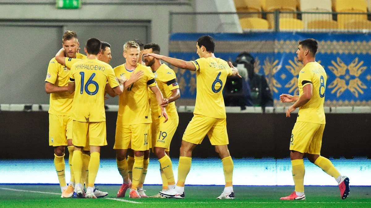 Сборная Украины может сыграть в Харькове