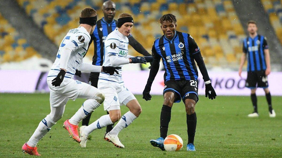 Сможет ли Динамо пройти Брюгге в еврокубках: анонс на матч Лиги Европы