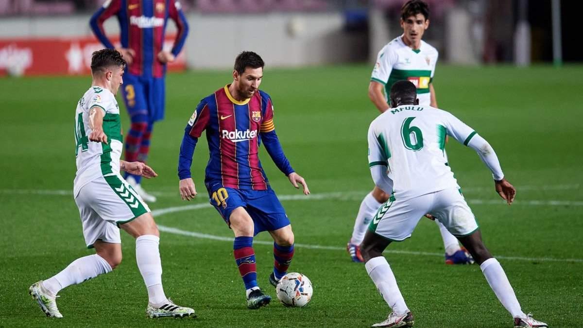 Барселона завдяки дублю Мессі розбила аутсайдера Ла Ліги: відео