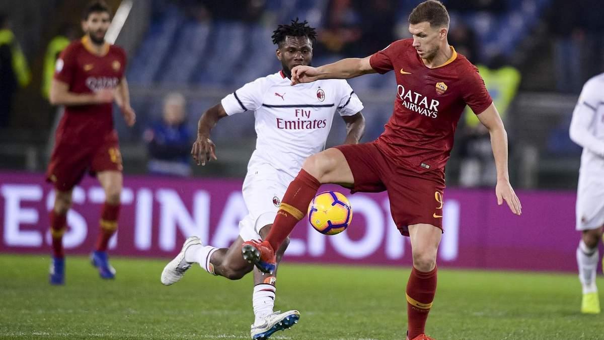 Сможет ли Милан прервать серию неудач: прогноз букмекеров на матч с Ромой