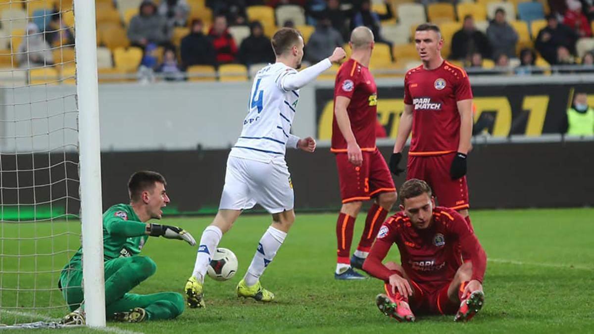 Динамо разгромило на выезде Львов, забив четыре гола: видео