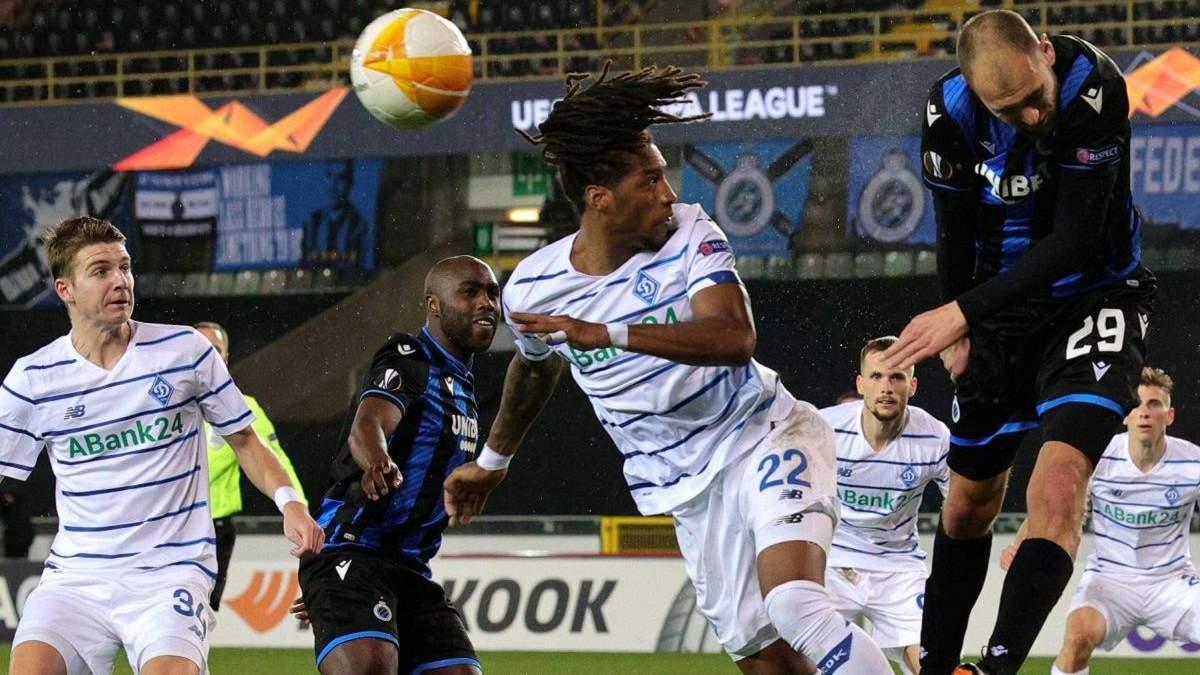 Динамо прервало выездную серию без побед в плей-офф еврокубков, которая длилась 10 лет