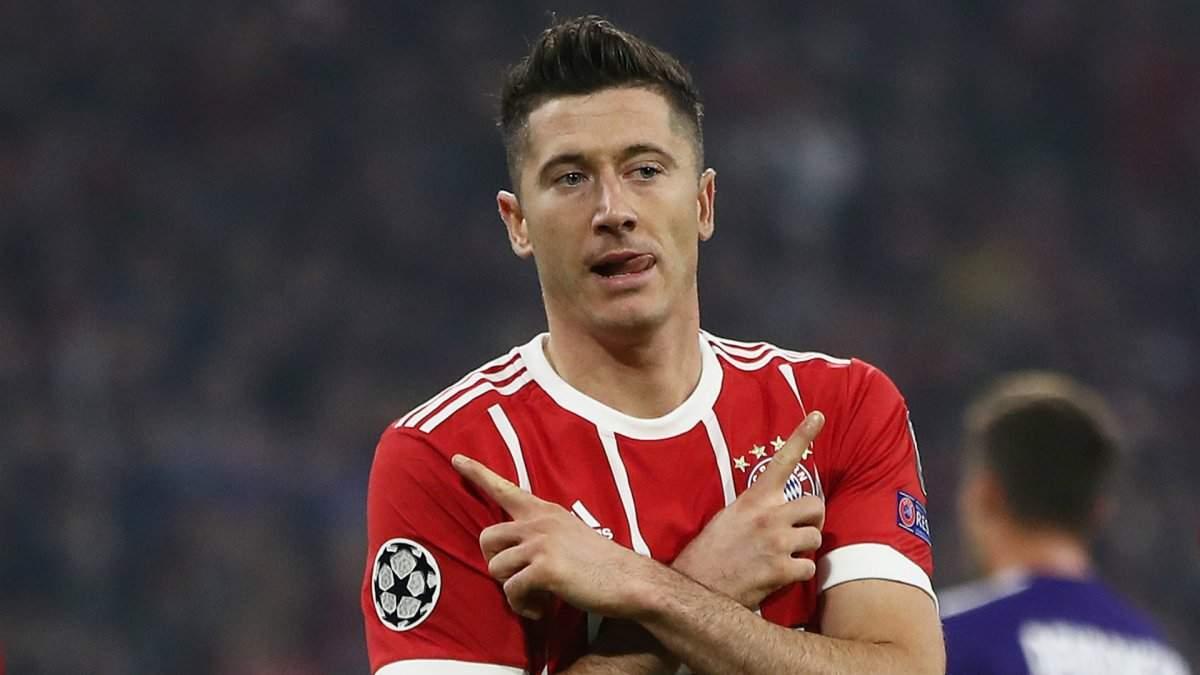 Левандовски стал лучшим игроком недели в Лиге чемпионов: видео гола поляка