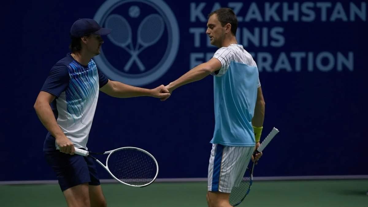 Украинский теннисист Молчанов – победитель парного турнира ATP в Казахстане