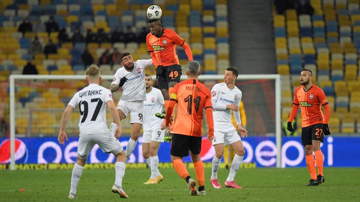 Как Заря в меньшинстве забила победный гол в ворота Шахтера на 90 + 4 минуте: видео