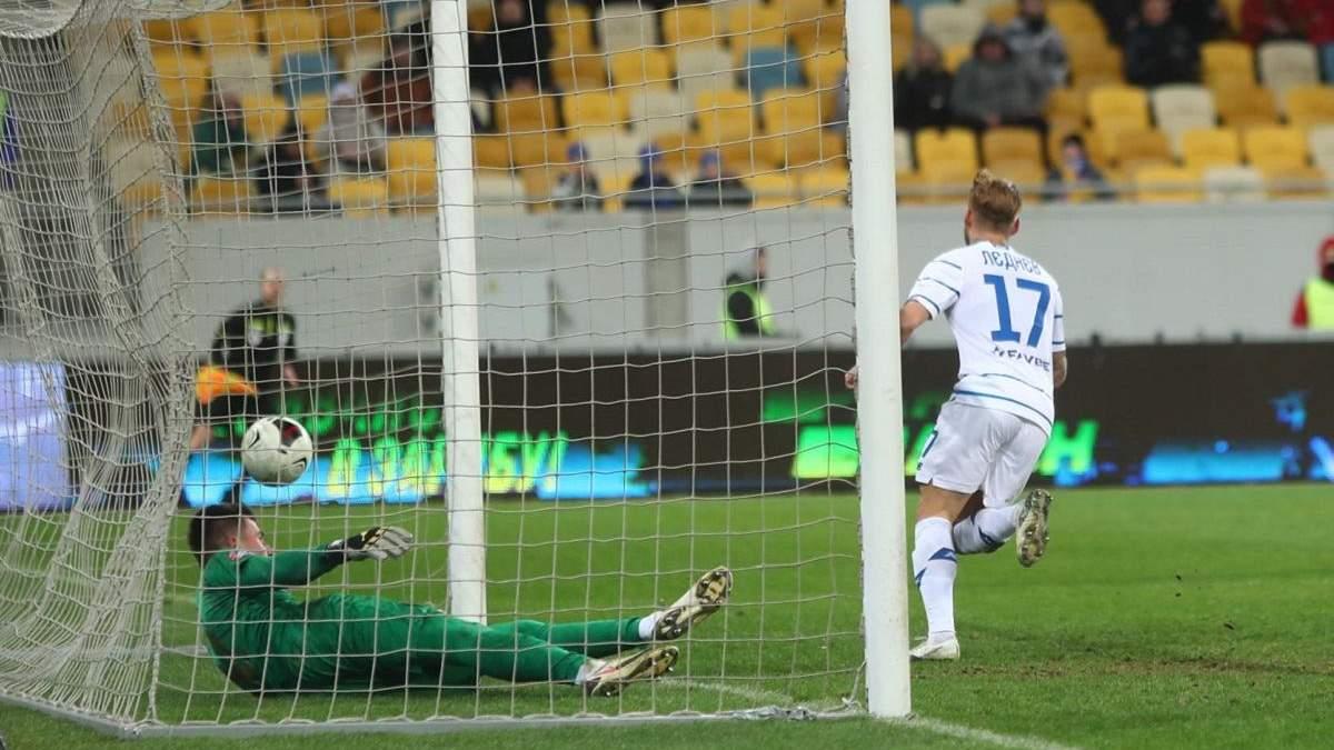 Вийшов та забив: як Лєднєв відзначився дебютним голом за Динамо – відео