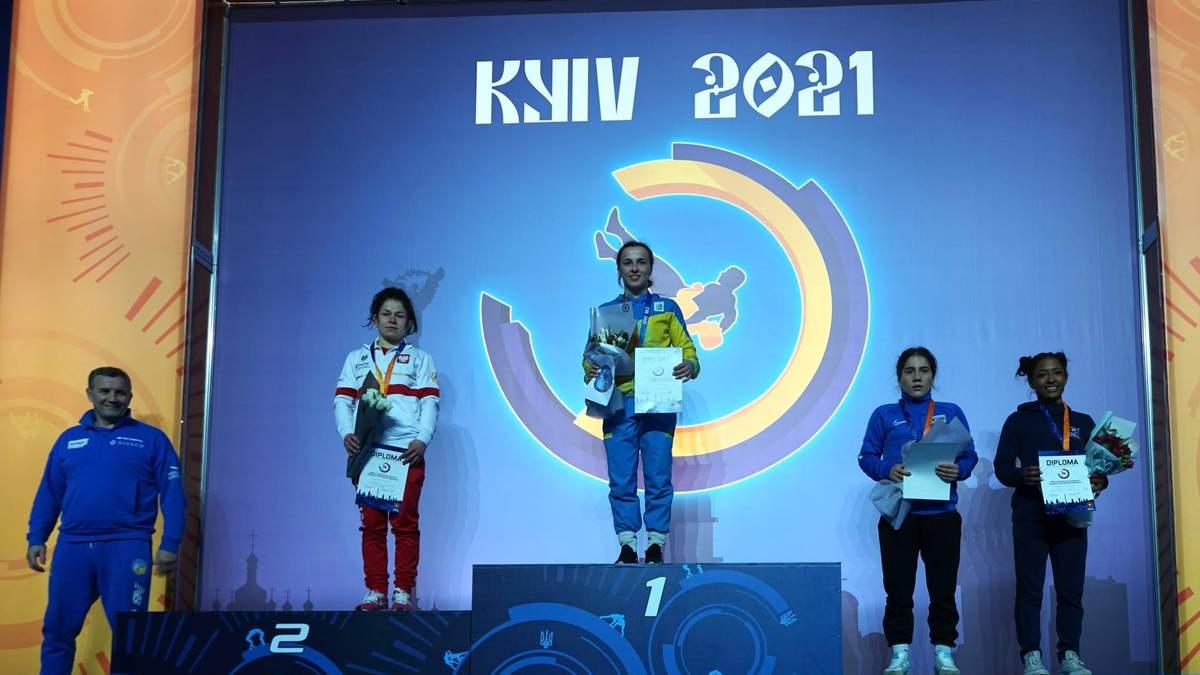 Українські борці завоювали 21 медаль на найпрестижнішому турнірі перед Олімпіадою