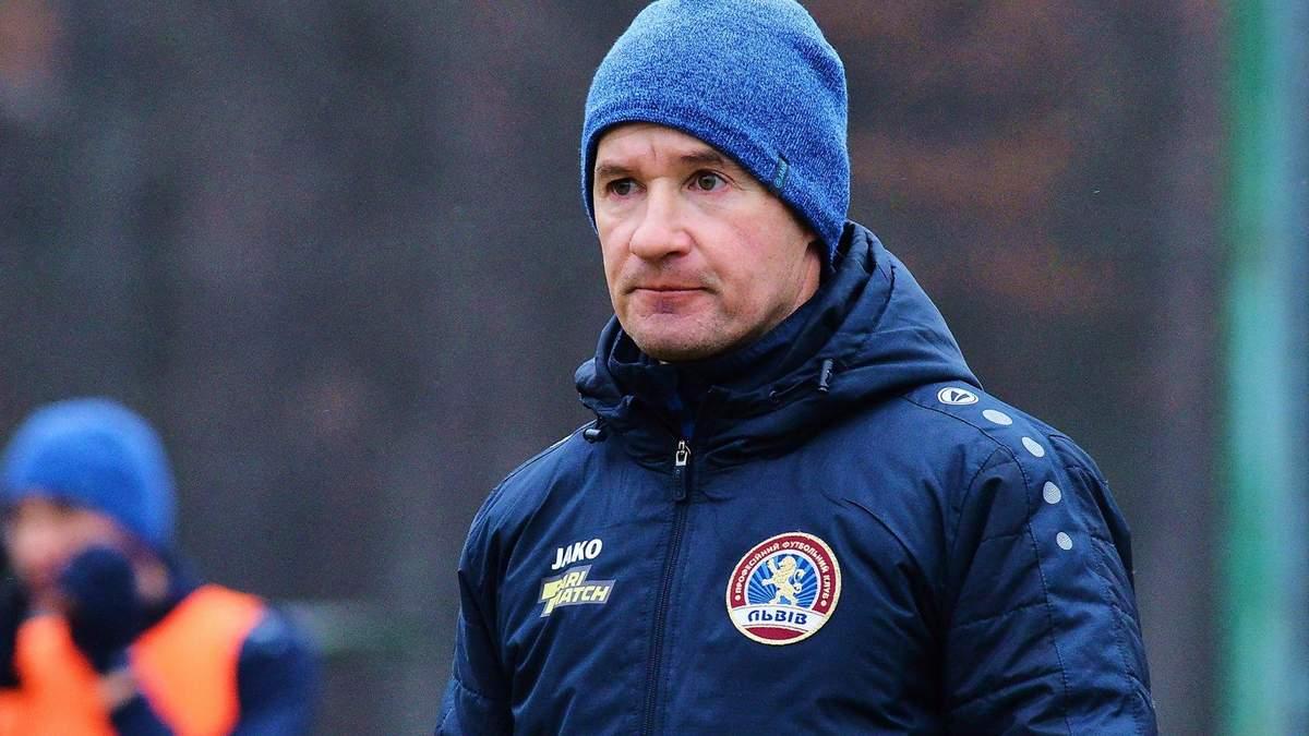 Экс-тренер Львова: Впечатление, что решение об отставке было принято до игры с Динамо
