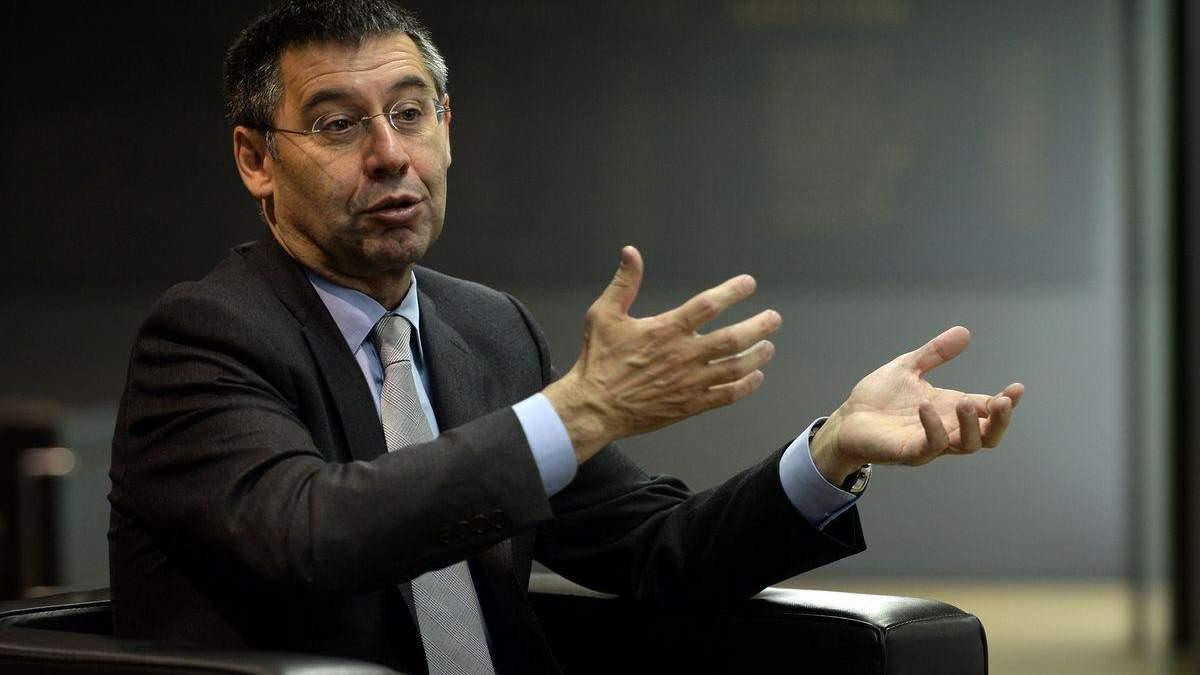 Экс-президента Барселоны Бартомеу отпустили под залог