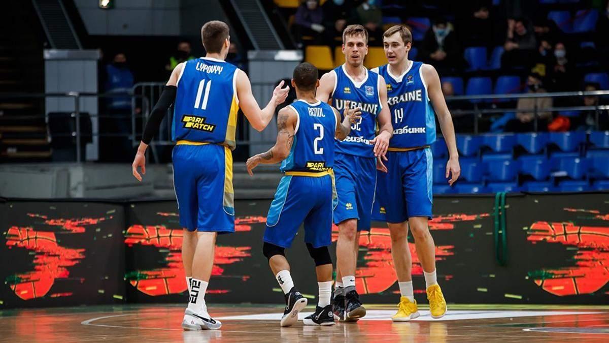 Украина поднялась в рейтинге ФИБА, обойдя Китай