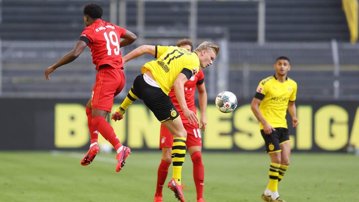 Хет-трик Левандовски и дубль Холанда: Бавария в огненном матче победила Боруссию Д