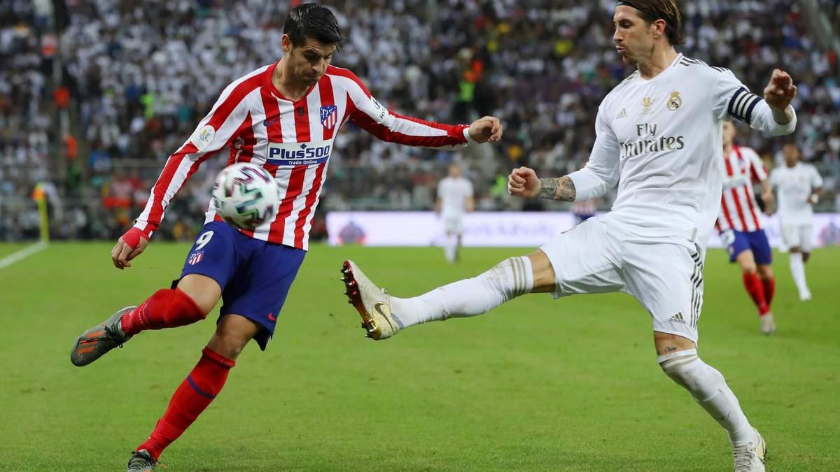 Атлетико – Реал: где смотреть матч Ла Лиги