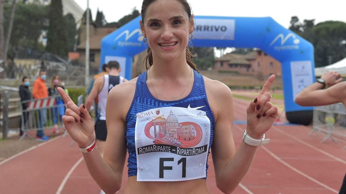 Титулованная украинская легкоатлетка София Яремчук приняла итальянское гражданство