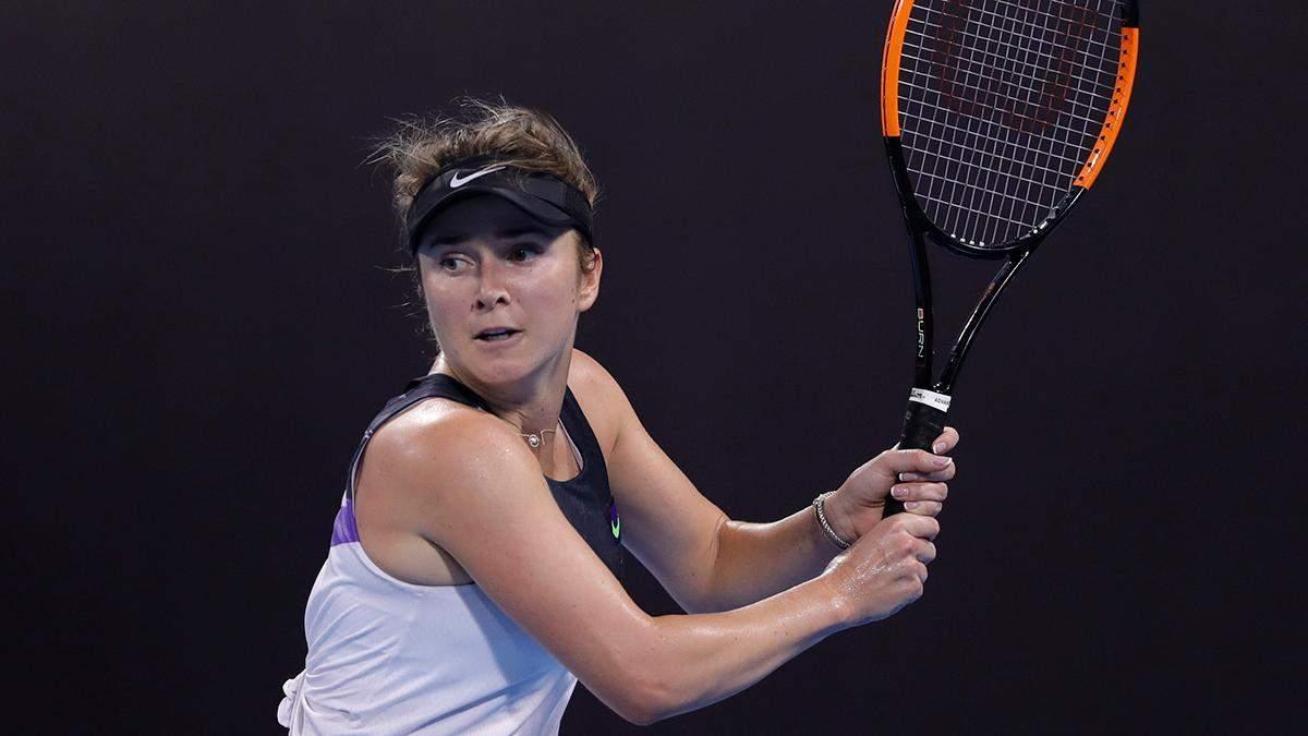 Элина Свитолина проиграла Светлана Кузнецовой на турнире в Дубае