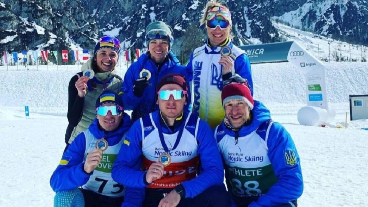Украинские паралимпийцы завоевали 29 медалей в Словении