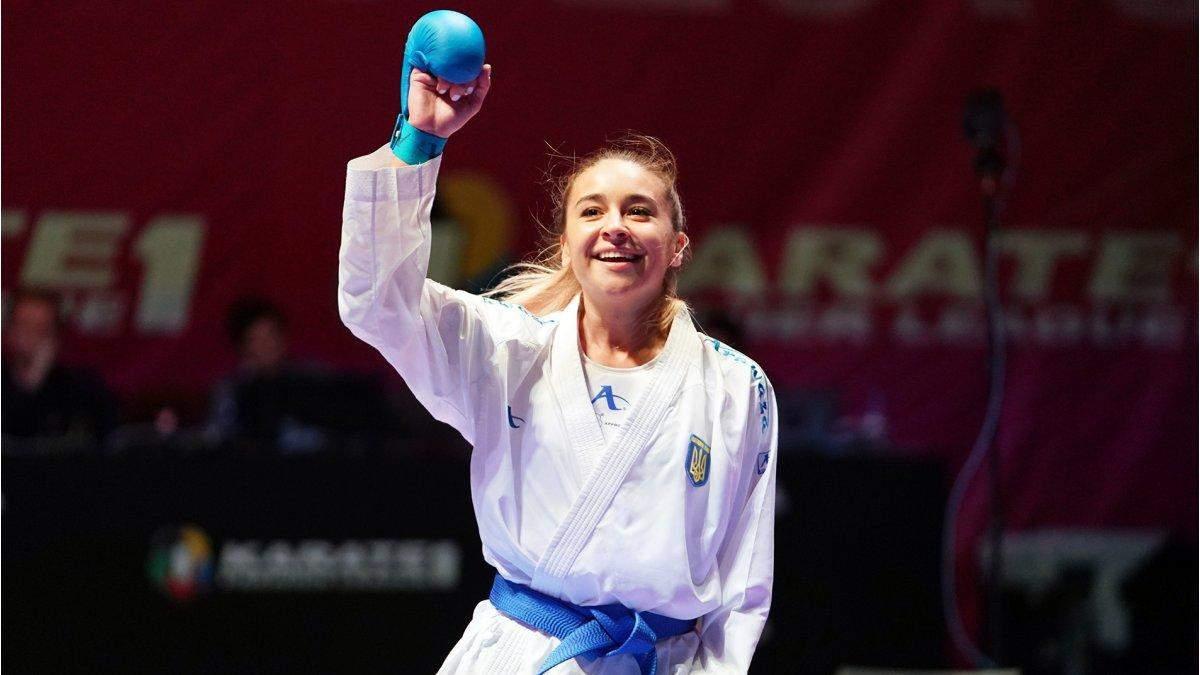 Каратистка Терлюга получила бронзу на турнире в Стамбуле