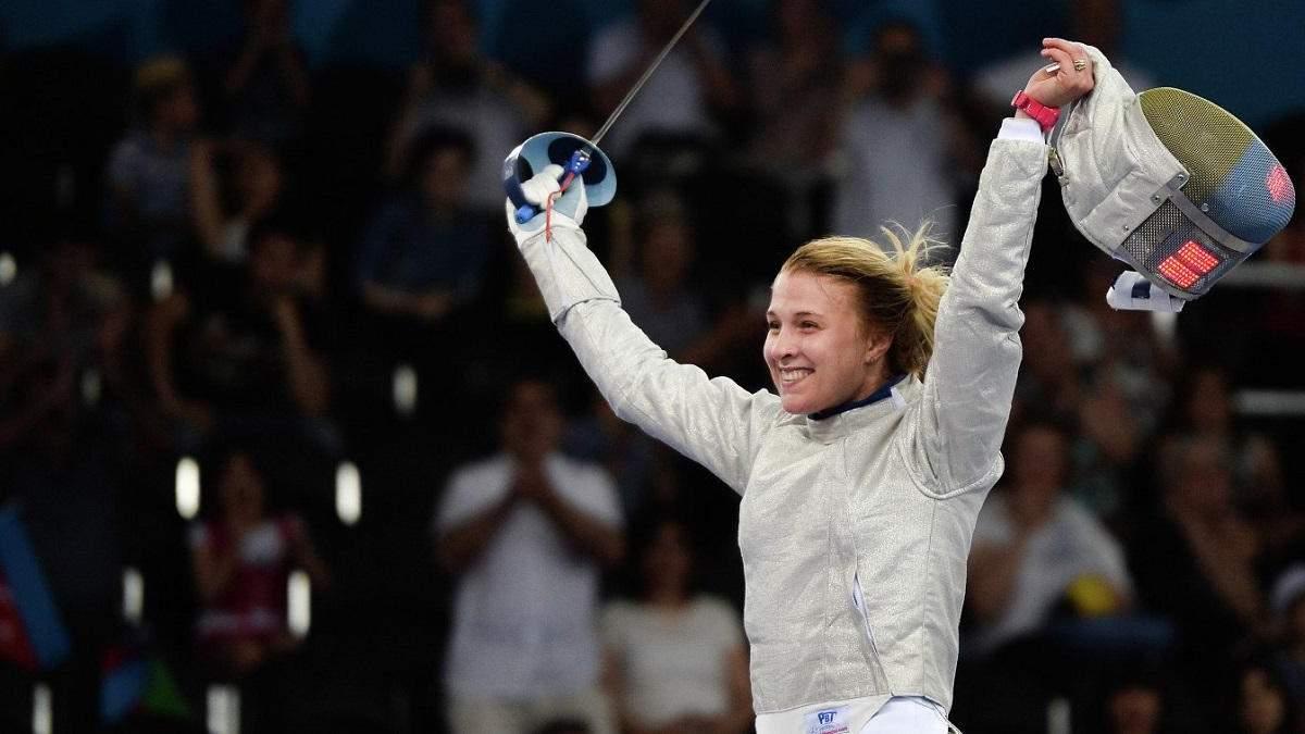 Харлан – єдина шаблістка з України, яка відібралась на Олімпіаду