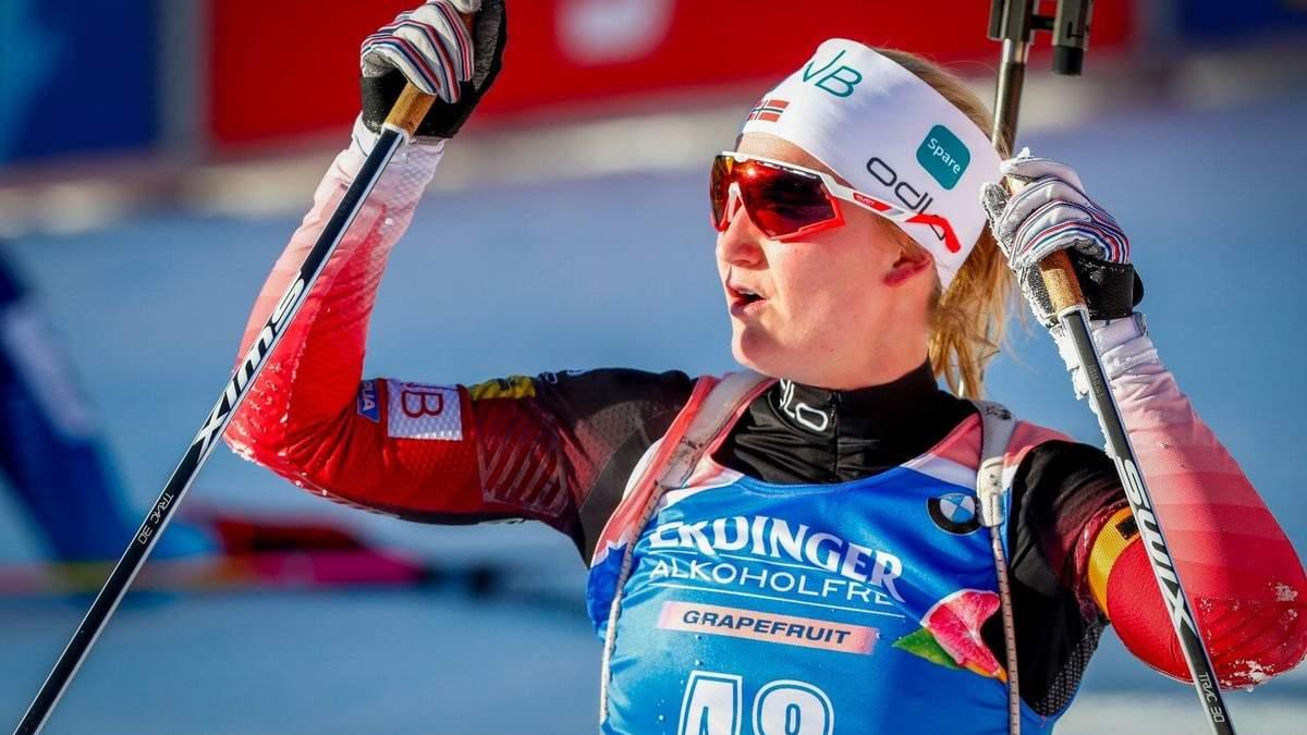 Результати жіночої гонки переслідування в Естерсунді 20.03.2020