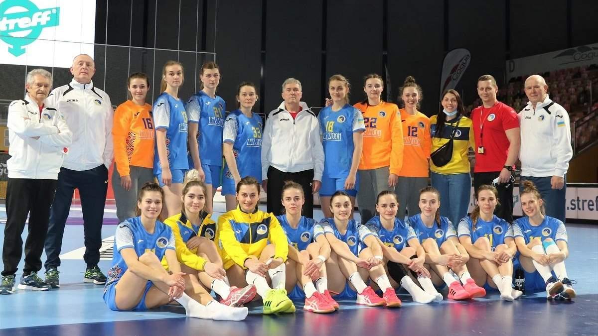 Україна перемогла Люксембург у кваліфікації на ЧС-2021 з гандболу