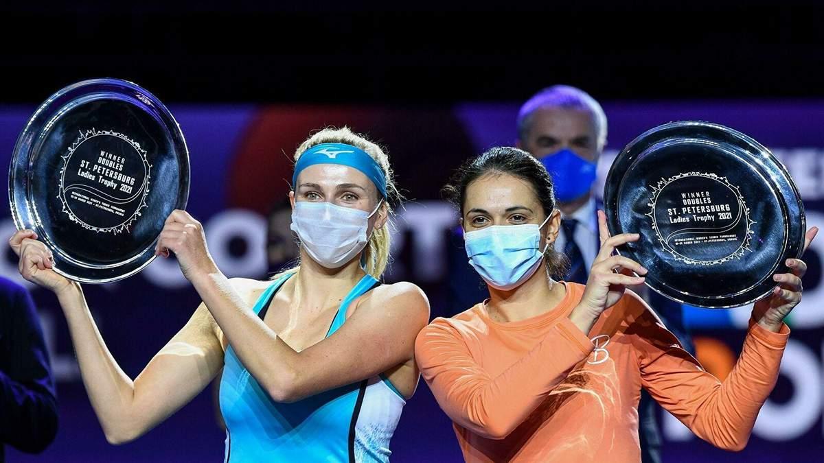 Украинка Киченок выиграла турнир WTA в Санкт-Петербурге