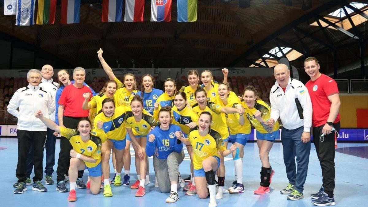 Україна здолала Ізраїль у боротьбі за путівку на ЧС-2021 з гандболу