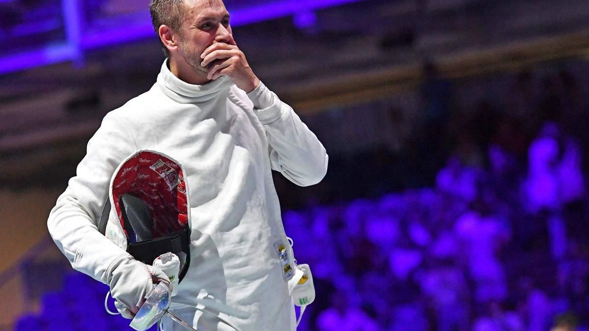 Украинский гимн в России: шпажист Рейзлин выиграл золото этапа Кубка мира