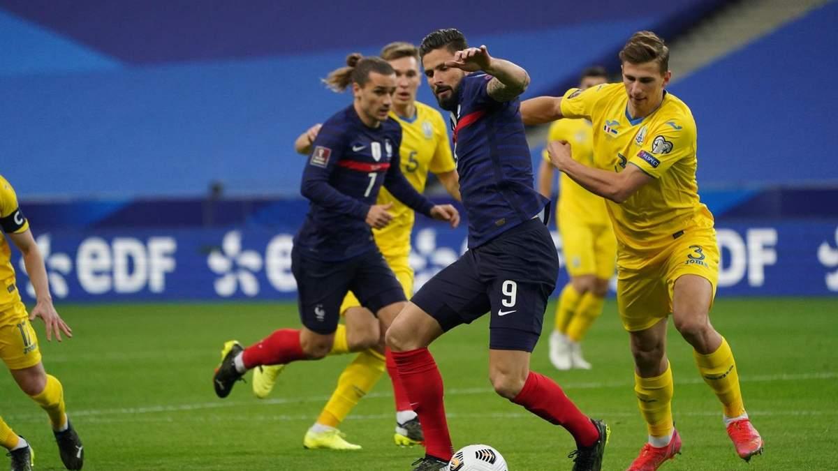 Франція - Україна результат і відео голів 24.03.2021, ЧС 2022