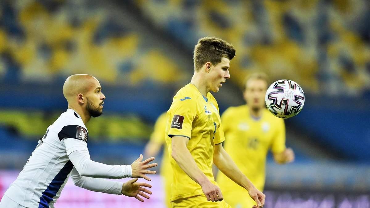 Україна – Фінляндія результат і відео голів 28.03.2021, ЧС 2022