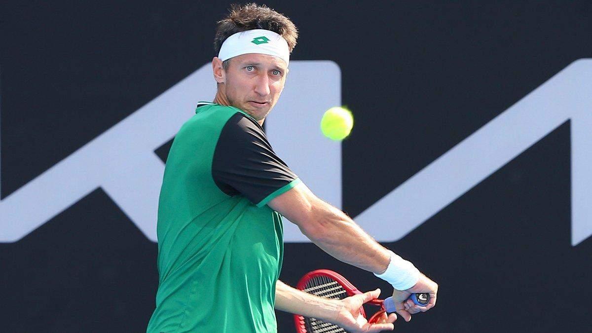 Стаховский – Сачко: результат матча 1/8 финала ATP в Швейцарии